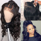 100% Real 8A Peruvian Human Hair Lace Front Wig Full Lace Wigs Loose Body Wavy h