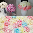 200 Foam Roses Artificial Fake Flower Heads Wedding Bouquet Party Home Decor Diy
