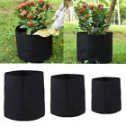 US Round Plant Grow Pot Rooter Container Bag Vegetable Strawberry Pouch Garden