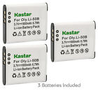 Kastar Replacement Battery for GE GB-50A & GE PJ1 Smart J1470S-SL Camera