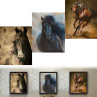 Внешний вид - Horse Oilcolor Wall Painting Canvas Picture Art Print Unframed Mural Home Decor