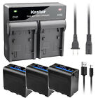 Kastar F980 Battery Rapid Charger for Sony NP-F960 MVC-FD85 MVC-FD87 MVC-FD88
