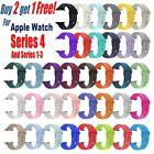 Replacement Silicone Wrist Bracelet Sport Band Strap For Apple Watch 42mm 38mm image