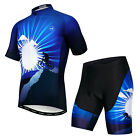 Weimostar Men's Cycling Jersey Cycling Clothes Bicycle Suit Bike Shirt Set Top