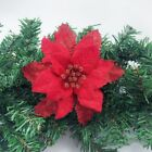 Christmas Garlands Artificial Garden Glitters Layer Flower Xmas Tree Decorations