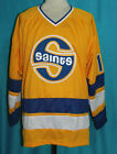 MINNESOTA FIGHTING SAINTS WHA HOCKEY JERSEY MIKE ANTONOVICH SEWN NEW ANY SIZE