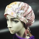 100% Pure Silk Sleep Hats Wrap Night Cap Hair Care Bonnet Women's Hat