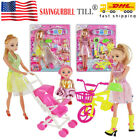 Princess Clothes Change Toys for Girls 4 5 6 7 8 Years Old Baby Christmas Gifts