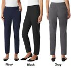 32 Degrees Ladies Soft Comfort Ankle Length Pant Pants, Various Colors Sizes NWT
