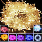 10M~100M 100~1000 LED Bulbs Xmas String Lights Fairy Party Waterproof 220V 2018