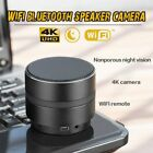 4K Hidden Camera 1080P WIFI HD Spy Cam Bluetooth Speaker Wireless Video Recorder <br/> 4K!WIFI remote!Night Vision!Motion Activated/Detection!