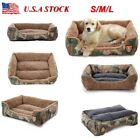 US Pet Supplies Dog Bed Kennel Bed House Cozy Warm Cushion Sleeping Pad Cat Mat