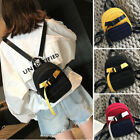 Convertible Canvas Small Mini Backpack Rucksack Sling bag Purse Chest Pack