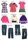 NWT Gymboree Falling for Feathers dress sweater jeans coat 3 4 5 6 7 8 9 10 12