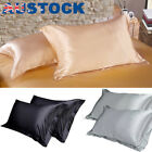 100% Satin Silk Pillowcase Bedroom Queen Pillow Cushion Covers Home Decor Luxury