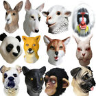 Realistic Animal Party Dog Monkey Latex Mask Halloween Costume Cosplay Christmas