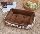 Small Pet Dog Cat Bed Puppy Blanket House Pet Soft Warm Kennel Dog Mat Cushion