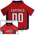 Washington Capitals NHL Pets First Licensed Dog Pet Hockey Jersey Sizes XS-XL $23.97 USD on eBay