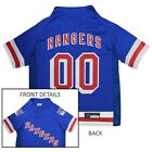 New York Rangers NHL Pets First Licensed Dog Pet Hockey Jersey, Blue Sizes XS-XL $23.97 USD on eBay