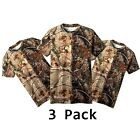 New Lot of 3 Pack Russell Outdoors Realtree AP Camo Short Sleeve T-Shirt B33Shirts & Tops - 177874