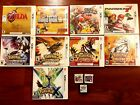 3DS and DS Games - Big Selection - New Games Added! See Photos!