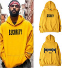 Justin Bieber Security Purpose Tour Yellow Sweatshirt Hoodie New Official Vfiles