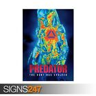 THE PREDATOR (ZZ051)  MOVIE POSTER Photo Picture Poster Print Art A0 to A4