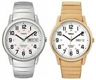 Timex Men&#039;s Easy Reader | Stainless Steel Expansion Band Day/Date | Dress Watch <br/> Official eBay Store for Timex, USA