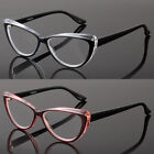 Soft Cat Eye Style Reading Glasses with Metal Hinges Arm for Women 1.00-4.00