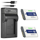 Kastar Battery Slim Charger for Sony NP-BD1 BC-CSD & Sony DSC-T70 Digital Camera