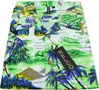 Relco Mens Hawaiian Short Sleeved Shirt 50's Aloha Retro Indie Palm Beach Hut