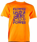INDIVIDUELLES + COOLES FASCHING KARNEVAL HIPPIE FLOWER POWER PARTY T-SHIRT!