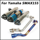 For YAMAHA SMAX155 Slip on Connecting Pipe Exhaust Muffler Pipe with DB Killer