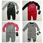 Nike Futura Infant Footed Coverall Sleeper Romper Boys Girls 0/3M 3M 6M 9M