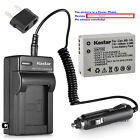 Kastar Battery AC Charger for Canon Original NB-10L NB-10LH & Canon OEM CB-2LC