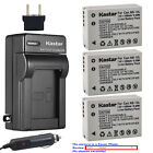 Kastar Battery AC Charger for Canon NB-10L CB-2LC & Canon PowerShot SX40 HS