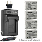Kastar Battery AC Charger for Canon NB-10L CB-2LC & Canon PowerShot SX50 HS