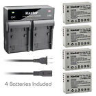 Kastar Battery Rapid Charger for Canon NB-10L CB-2LC Canon PowerShot SX60 HS