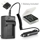 Kastar Battery AC Charger for Panasonic CGA-S005 & Panasonic LUMIX DMC- FX12