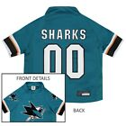 San Jose Sharks NHL Pets First Licensed Dog Pet Hockey Jersey Sizes XS-XL $23.97 USD on eBay