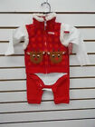 Infant Boys/Girls Rudolph The Red Nosed Reindeer 3pc Sets Size 12 Months
