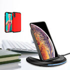 For Apple iPhone XS Max/XS/XR Qi Fast Wireless Charger Charg