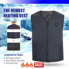 Winter Heated Vest Motorcycle USB Power Bank Stay In Fashion Men M-4XL