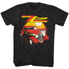 ZZ Top Eliminator Album Cover Mens T Shirt Car Hair Rock Band Concert Tour Merch image