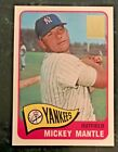 1996 Topps Mickey Mantle Reprints; You Choose; Complete Your Set; NM/MT+