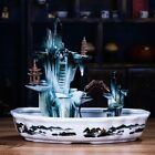 Ceramics Iceberg Rockery Water Fountain Atomizer Tabletop Fish Tank Lucky Decor