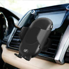 FDGAO Qi Wireless Charger Automatic Car Air Vent Holder Mount For iPhone X XR XS