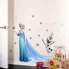 7 Styles Frozen Elsa Anna Princess& Olaf Wall Stickers Kids Room Removable Decor