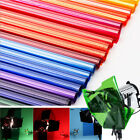 40x50CM Lighting Color Filter paper for Photo Lamp Gel Sheets Camera Accessories