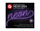 Make Your Own Neon Sign 3M String Light Message Kit Party Birthday Christmas